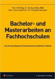 Buch Bachelor und Masterarbeiten